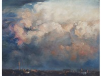 jo'burg skyline by walter voigt