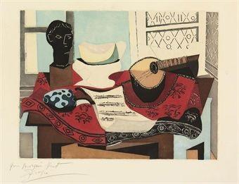 Nature morte after Pablo Picasso by Jacques Villon on artnet