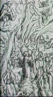holzschnittfolge von matthias gerung zum kommentar der   apokalypse des sebastian meyer... (59) by matthias (von nördlingen) gerung