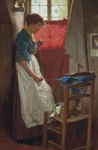 winding the wool by carlton alfred smith