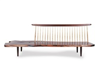 conoid bench by mira nakashima-yarnall