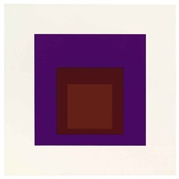 palatial (from soft edge-hard edge) by josef albers