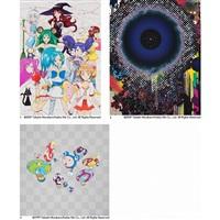 1. majokko (majikal princesses) a la mode 2. warp 3.! n cha by takashi murakami