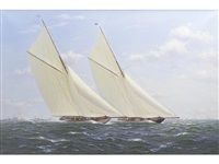 racing yachts by richard m. firth