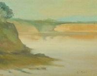 beaumaris seascape by clarice marjoribanks beckett