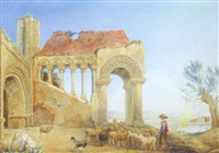 old gateway to the ancient mint at canterbury by henry c. gritten