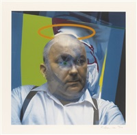 portrait of dieter roth by richard hamilton