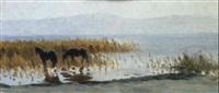 chevaux by yuri sergeev