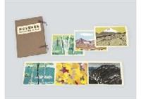 national park collection (set of 6) by shinkichi (kaii) higashiyama