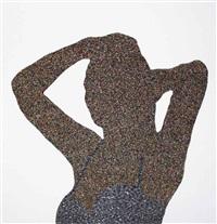 censored model in swimsuit by farhad moshiri