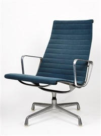 group armchair by charles and ray eames