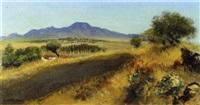 paisaje de tlahuac by luis nishisawa