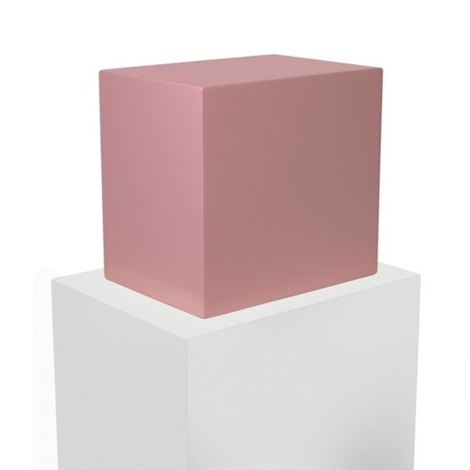untitled pink block by john mccracken