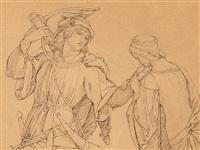 siegfried and kriemhild by julius schnorr von carolsfeld