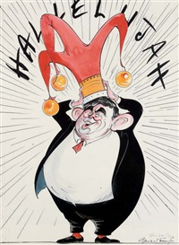 hallelujah by gerald scarfe