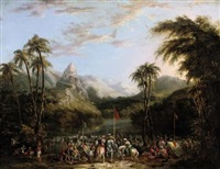 a meeting of rajahs in the punjab hills by james atkinson