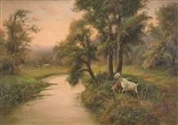 paesaggio con caprette by francesco capuano