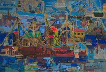 puerto gallego by maría antonia dans
