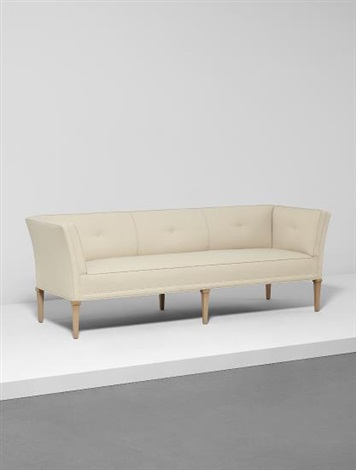 Rare Sofa, From The Neiman Marcus Building, Dallas, Texas By T.h. Robsjohn
