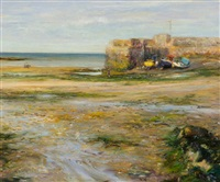 low tide, rush harbour by paul kelly