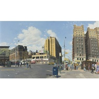 110th and broadway by rackstraw downes