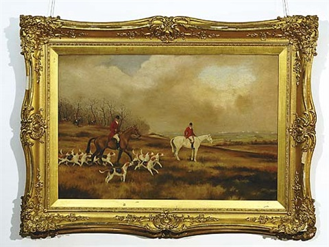 fox hunt by wilfred bailey