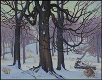 woodland by frederick stanley haines