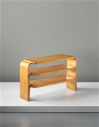 shelf unit, model no. 111 by alvar aalto