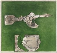 bird and split rock (tassi 145) by graham sutherland