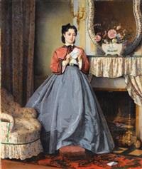 la lettre d'amour by auguste toulmouche