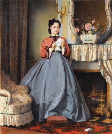 la lettre damour by auguste toulmouche