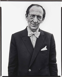 vladimir horowitz, pianist, new milford, connecticut by richard avedon