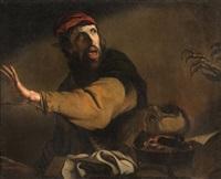 le magicien effrayé by pietro paolini