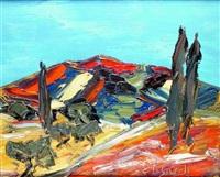 paysage flamboyant by jean sardi