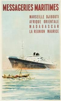 marseille, djibouti, afrique orientale, madagascar, la réunion, maurice by jean des gaschons