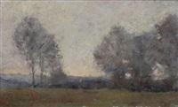 paysage en brabant by hippolyte emmanuel boulenger