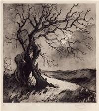 la ventouseuse de campagne, l'arbre maudit, auberge en quercy, gens du peuple et scènes populaires (6 works) by louise catherine ibels