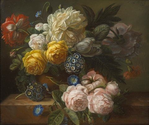 floral still life by mary moser