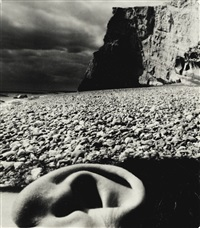 east sussex coast (ear and beach) by bill brandt