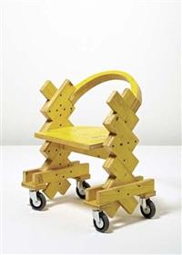 armchair (prototype) by cesare leonardi