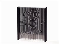 plexiglass multiple by victor vasarely