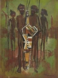 les aborigènes (les hommes pieuvres) by helen lempriere