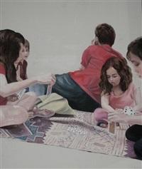 children playing by isa markovich