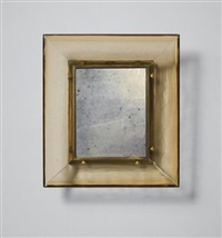 mirror, model no. 30 by carlo scarpa