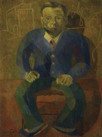 我親愛的中國朋友之肖像 (portrait of my dear chinese friend) by yun gee