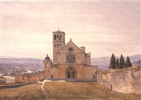 basilica di san francesco, assisi by stephan peter jakob hjort ussing