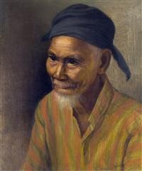 indonesische man by dullah