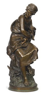 mère et enfant (mother and child) by mathurin moreau