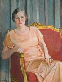 portrait de hélène robin by le thi luu