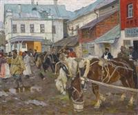 provincial market by arnold borisovich lakhovsky